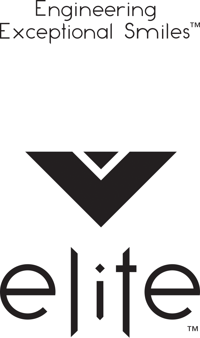 pyramid logo with Elite Dental Center below