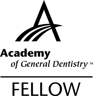 Logo for the Academy of General Dentistry Fellow