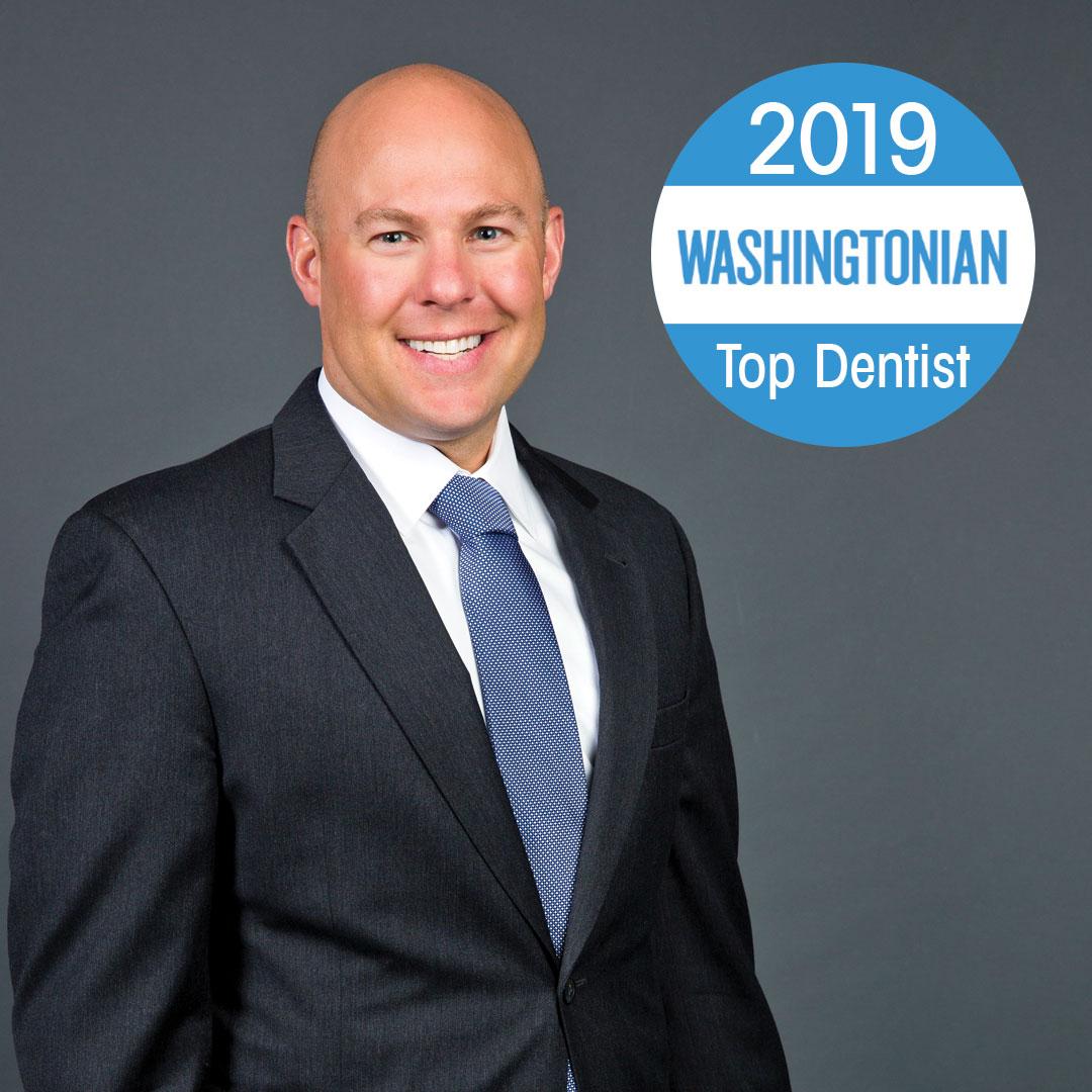 Scott Dudley Washingtonian Top 2019 Dentist