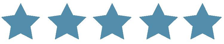 Five Blue Stars